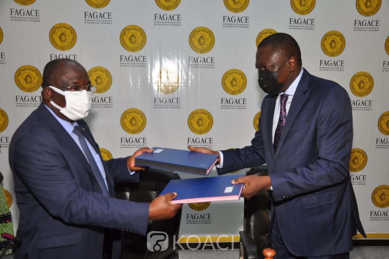 Côte d'Ivoire : Financement des PME-PMI, Jérôme Ehui signe un accord-cadre de partenariat au siège du Fagace à Cotonou