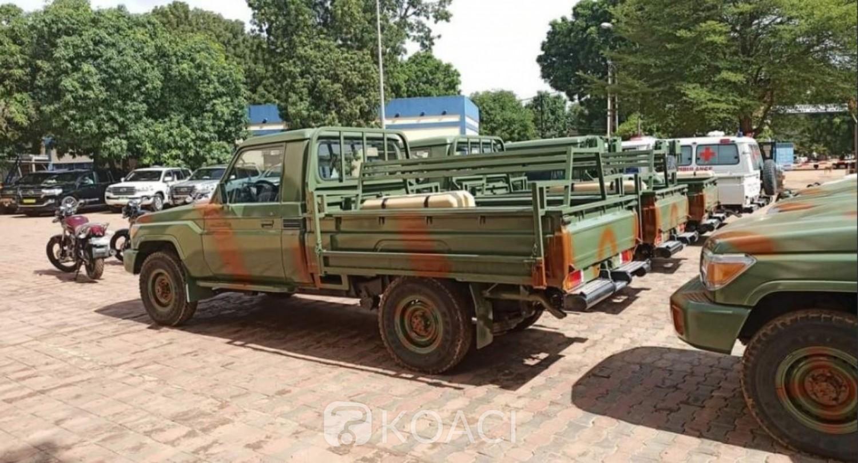Burkina Faso : Du matériel militaire pour les Groupes d'Actions Rapides de Surveillance et Intervention au Sahel