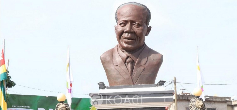 Togo :  Disparition des lunettes du buste de Senghor à Lomé