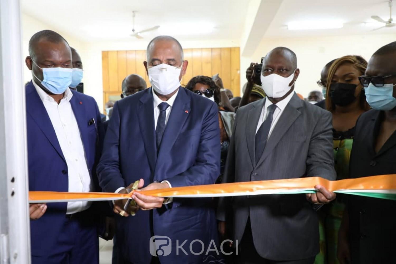 Côte d'Ivoire : À l'Université Lorougnon Guédé de Daloa, Patrick Achi inaugure le guichet emploi et lance un message aux jeunes