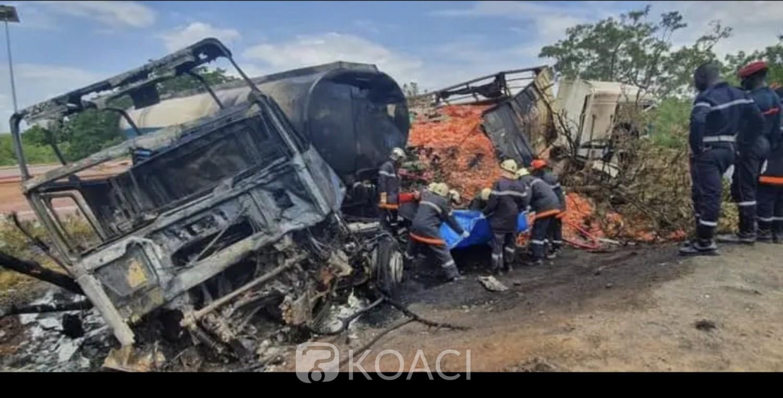Burkina Faso : Un mort et trois blessés dans un grave accident de la circulation