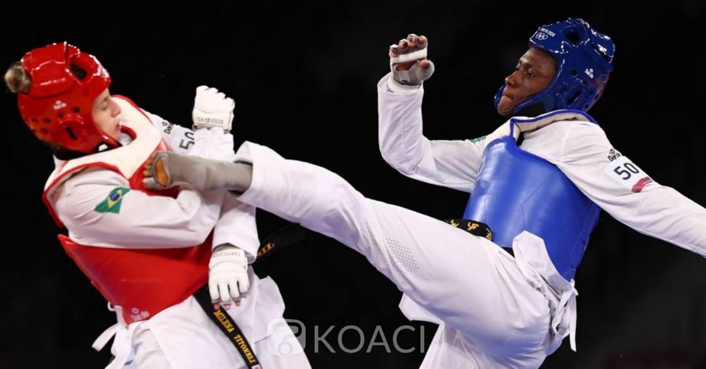 Côte d'Ivoire : Taekwondo, Ruth Gbagbi décroche la médaille de bronze au JO de Tokyo