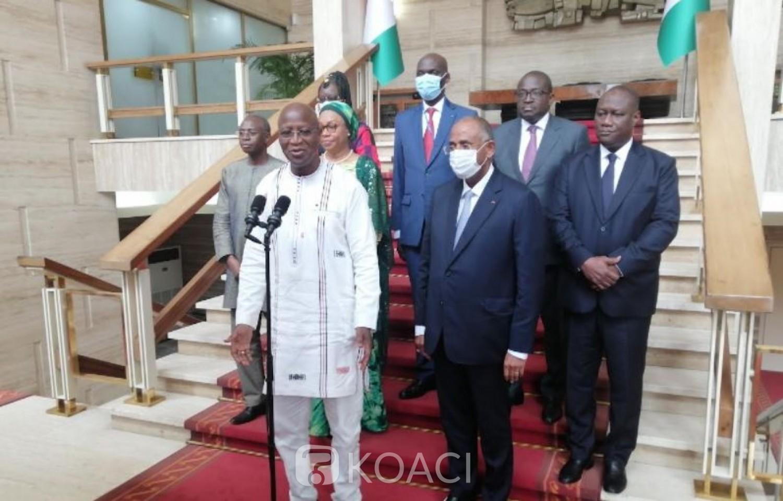 Côte d'Ivoire :    En marge du TAC, Ouattara rassure Dabiré quant à la lutte contre le terrorisme et annonce l'ouverture prochaine des frontières entre les deux pays