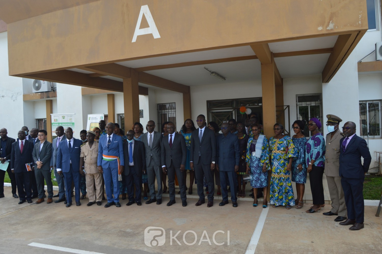 Côte d'Ivoire :  Le data Center mutualisé de secours du ministère du Budget et du portefeuille de l'état logé à Yamoussoukro opérationnel depuis lundi