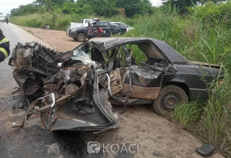 Côte d'Ivoire : Un mort dans un nouvel accident signalé sur la route de Tiébissou