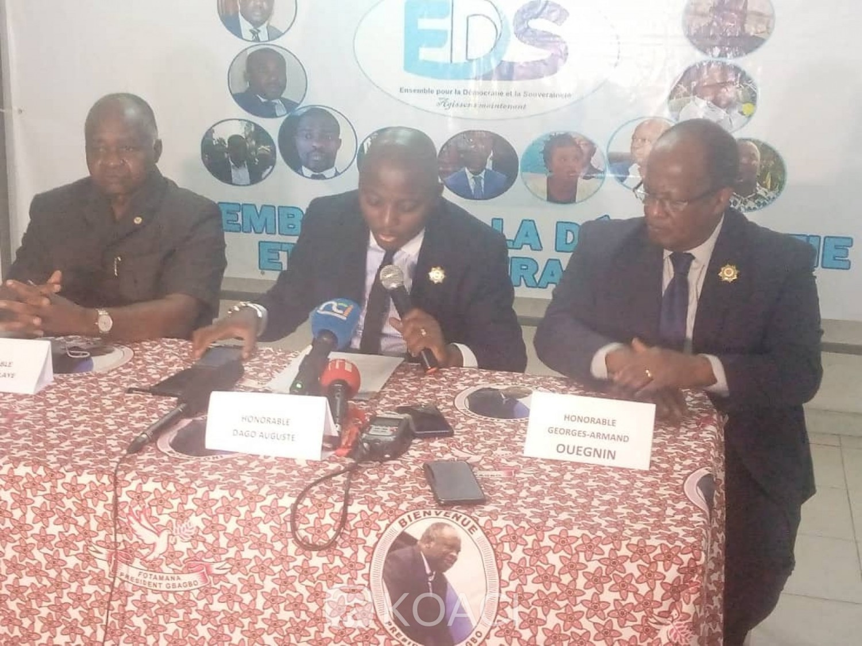 Côte d'Ivoire : Monnaie Éco, le Groupe parlementaire EDS invite le Chef d'État à ne pas promulguer cette loi