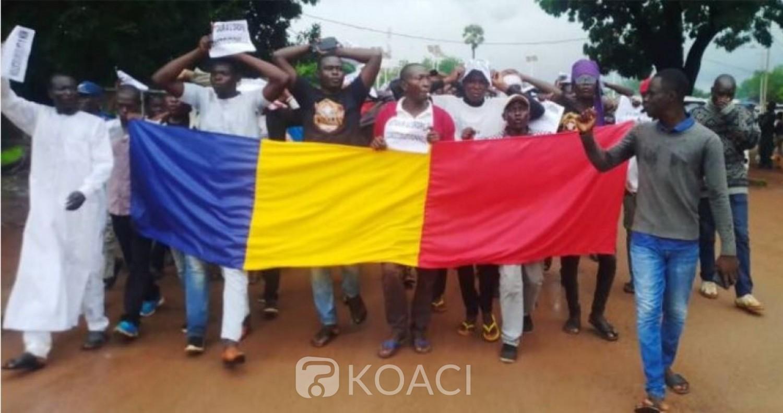 Tchad : Manifestation à N'Djamena contre la junte militaire au pouvoir