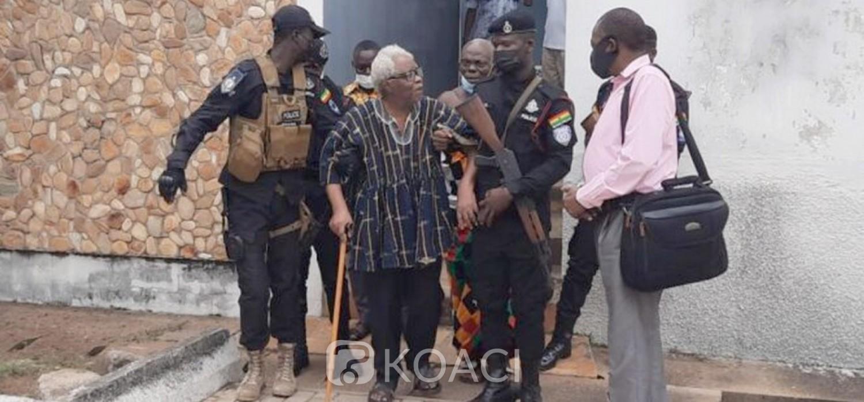 Ghana :  Togoland, le leader séparatiste Papavi en liberté sous caution après son arrestation
