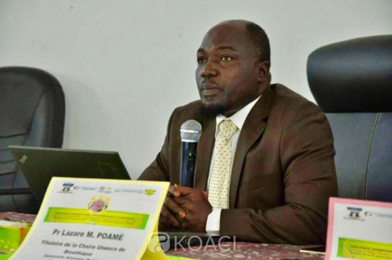 Côte d'Ivoire :  Traitements attendus contre la COVID-19, la Chaire UNESCO de Bioéthique privilégie le champ de la médecine naturelle et des technologies douces
