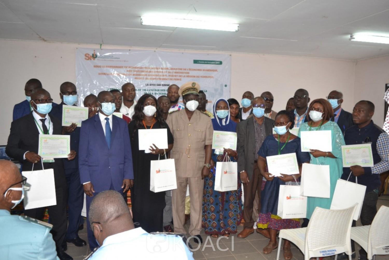 Côte d'Ivoire :  Tchologo, renforcement des capacités de 187 fonctionnaires et agents de l'Etat à l'usage des outils informatiques