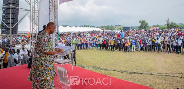 Côte d'Ivoire : Depuis Adzopé, les populations de la Mé expriment leur reconnaissance à Ouattara pour ses actions de développement et la nomination de Patrick Achi au poste de Premier ministre
