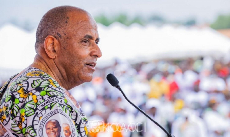 Côte d'Ivoire :  Depuis Adzopé, Achi réitère devant ses parents que sa loyauté à l'œuvre de Ouattara et à sa personne sera éternelle