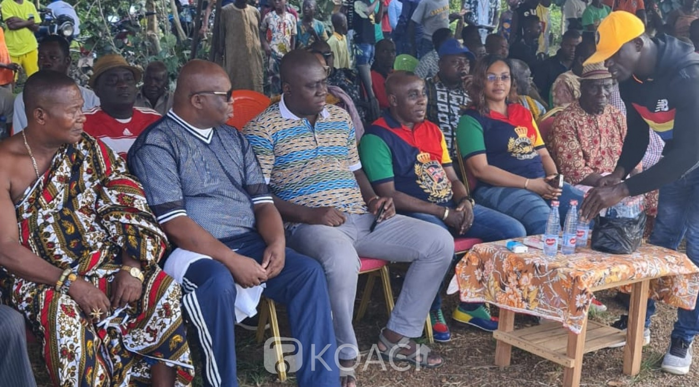 Côte d'Ivoire : Ayamé, en présence du sous-préfet Brou Kakou exhorte les populations à la cohésion dans les actes