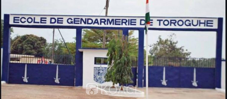 Côte d'Ivoire : Gendarmerie, la double cérémonie de baptême et de prestation de serment des élèves Sous-Officiers de Toroguhé reportée à jeudi