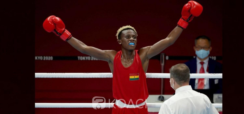 Ghana :  JO Tokyo, le boxeur Samuel Takyi se distingue avec le bronze