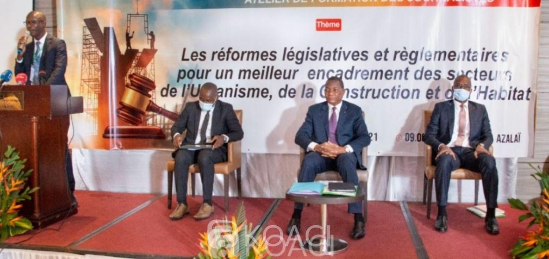 Côte d'Ivoire : Réformes relatives à la Construction, au Logement et à l'Urbanisme, les acteurs des médias formés pour dissiper certaines incompréhensions