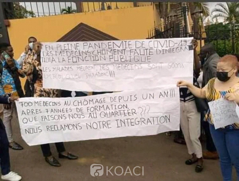 Cameroun : Pourquoi des centaines de médecins manifestent à Yaoundé ?