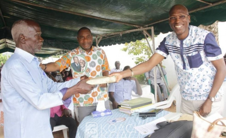 Côte d'Ivoire : Afin de « donner plus de poids et de moyens aux acteurs de terrain pour un travail conséquent », une mission du RHDP à Bouaké
