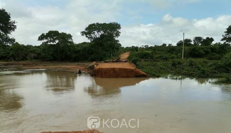 Côte d'Ivoire : Madinani, 02 personnes dont une en service à la brigade de gendarmerie tuées dans des inondations