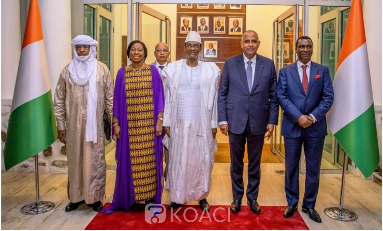 Côte d'Ivoire-Mali : Depuis Abidjan, Choguel Maïga à propos du « second coup d'Etat » parle de  rectification de la trajectoire de la Transition