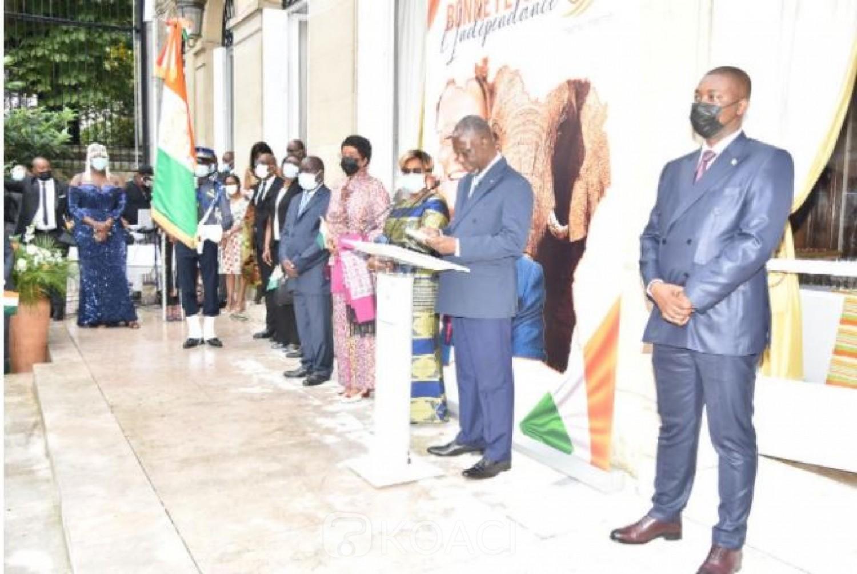 Côte d'Ivoire : 61 ans d'indépendance à Paris,  l'ambassadeur Maurice Kouakou Bandama : « Le processus de réconciliation est en marche »