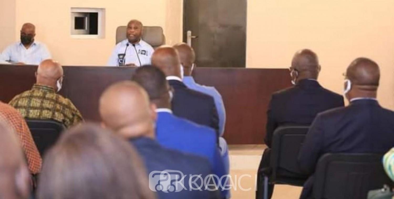 Côte d'Ivoire : Après son divorce avec Affi, Gbagbo reçoit des Partis politiques membres de EDS et appelle à un nouveau départ