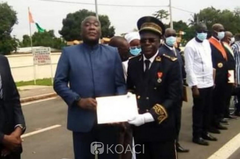 Côte d'Ivoire : Katiola, le colonel Touré Hervé alias « Vetcho », ancien membre des forces nouvelles décoré pour ses actions de paix