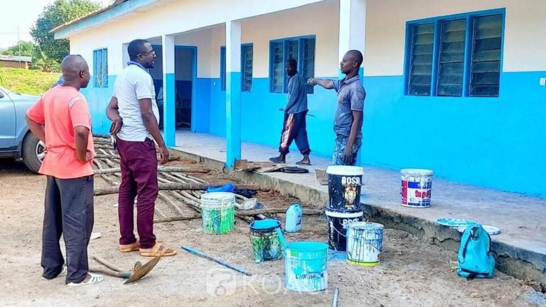 Côte d'Ivoire : Danané, parti inaugurer pour le compte du conseil régional un hôpital construit, réhabilité et équipé par la mairie, Mabri stoppé net par les forces de l'ordre