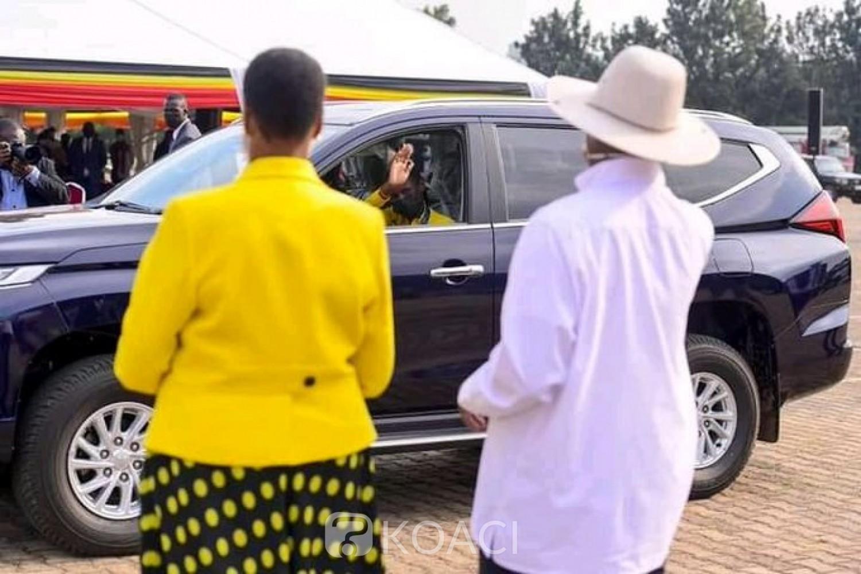 Ouganda : Museveni récompense les médaillés de Tokyo avec des voitures de luxe et promet des maisons à leurs parents