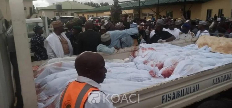 Nigeria : Au moins 22 morts dans une attaque contre un convoi de pèlerins musulmans