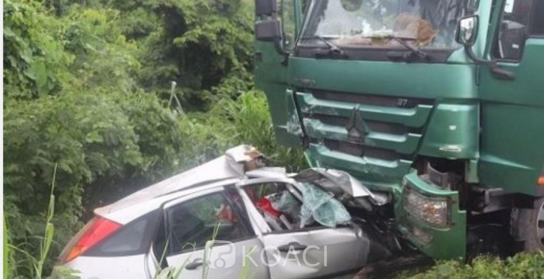 Côte d'Ivoire : Collision avec un camion-benne dans la région du N'Zi, quatre morts