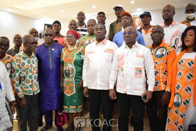 Côte d'Ivoire : Région du Tonpki, après l'échec du Rhdp aux élections législatives, Félix Anoblé invite à privilégier l'intérêt du parti plutôt que des intérêts individuels