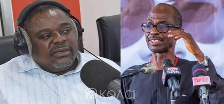 Ghana :  Koku Anyidoho rejette son exclusion du NDC et menace