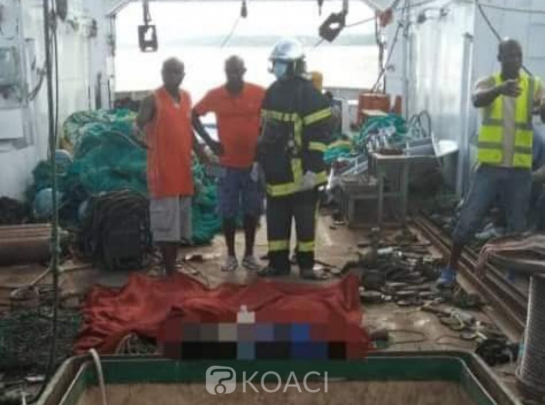 Côte d'Ivoire : Abobodoumé, 02 personnes perdent la vie après avoir respiré un gaz suffocant dans la cale d'un bateau