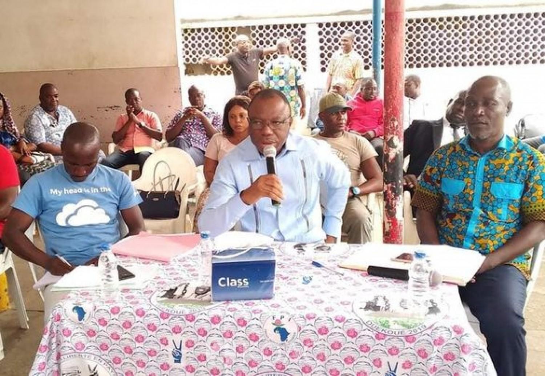 Côte d'Ivoire : Depuis Marcory, Damana Pickass « Affi était un serpent qu'on traînait dans notre poche» et fait des révélations sur le rejet de sa candidature aux législatives