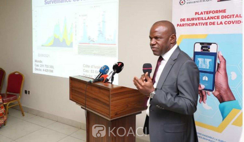 Côte d'Ivoire : L'INHP lance une plateforme de surveillance digitale participative de la Covid-19 et les autres maladies respiratoires avec l'application  AFYA
