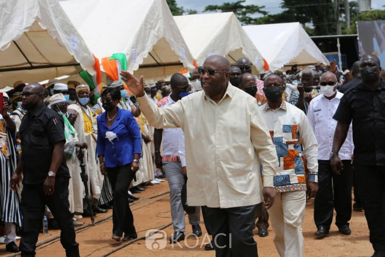Côte d'Ivoire : A Mama, Gbagbo annonce une visite à l'ouest du Pays sans donner de date et demande aux cadres guérés de mener des études sur tueries subies