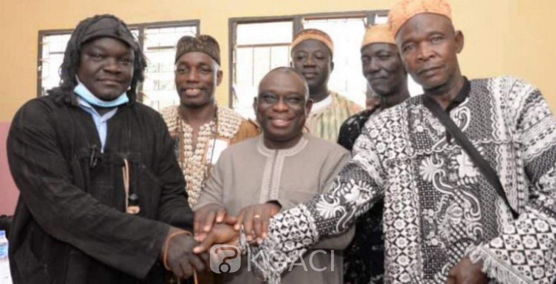 Côte d'Ivoire : Conflit foncier, Diawala et Niellé font la paix sous les auspices du Ministre KKB qui savoure