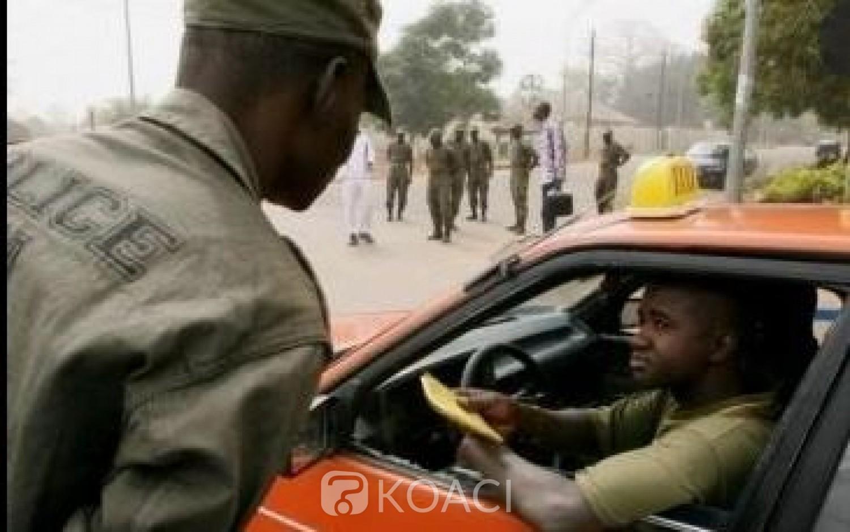Côte d'Ivoire : A  compter du mois du d'octobre prochain les procès des agents « racketteurs » seront  filmés et diffusés, voici les zones où le phénomène ferait rage