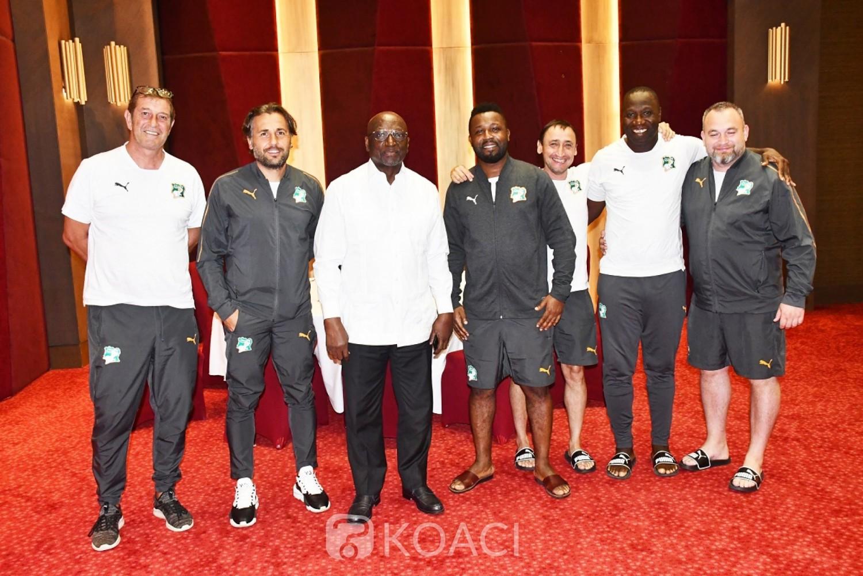 Côte d'Ivoire : Avant  leur départ pour Maputo ce mercredi, Jacques Anouma relève  aux joueurs l'importance de participer à une coupe du monde
