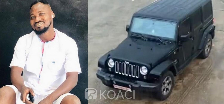Ghana : Funny Face dévoile le don d'une nouvelle voiture par Adebayor