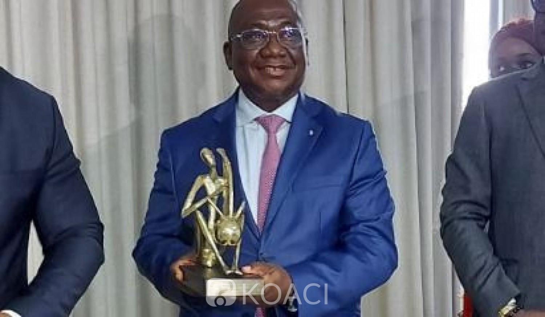 Côte d'Ivoire : Jerôme Ehui, DG de Versus Bank, obtient le prix ICS du meilleur banquier du pays