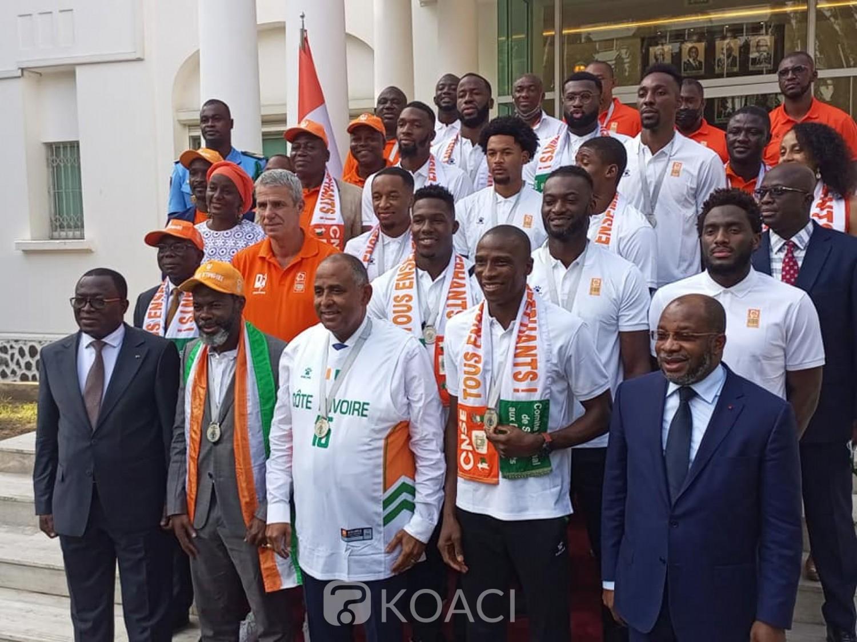 Côte d'Ivoire : La République reconnaissante aux éléphants Basketteurs après leur brillante prestation à Kigali, une prime de 5 millions FCFA pour chaque joueur