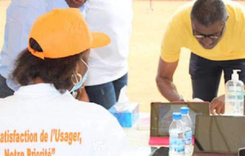 Côte d'Ivoire :   Observatoire du Service Public, sur 11333 demandes d'informations, 94,52% des usagers-clients satisfaits du traitement