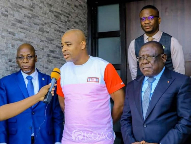 Côte d'Ivoire : Le Maire Kalou chez le Ministre Cissé Bacongo : « Je suis venu à l'école du Maître »