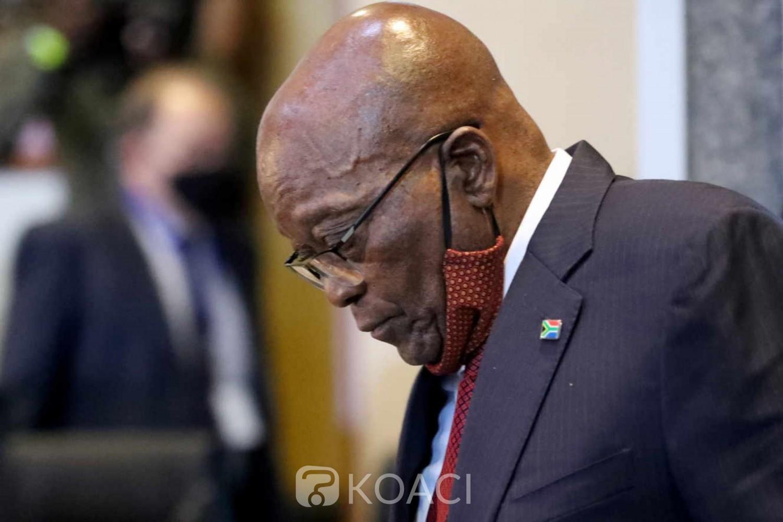Afrique du Sud : L'opposition veut renvoyer Jacob Zuma en prison