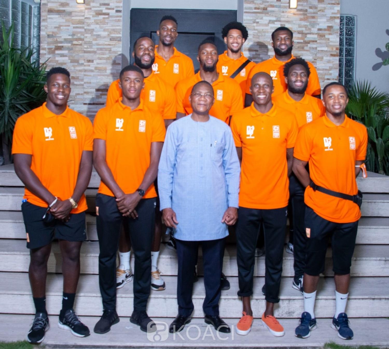 Côte d'Ivoire : Vice-champion d'Afrique, les basketteurs dinent chez Bruno Koné