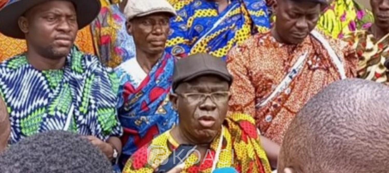 Côte d'Ivoire : Djibo Kamon, malgré les injonctions du Ministère, les ventes illégales se poursuivent, le cri de cœur de la chefferie et du président du collectif