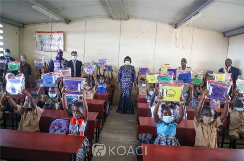 Côte d'Ivoire : Rentrée Scolaire 2021-2022, distribution de 5 162 730 kits scolaires, coût, plus de 10 milliards de FCFA, commercialisation  interdite