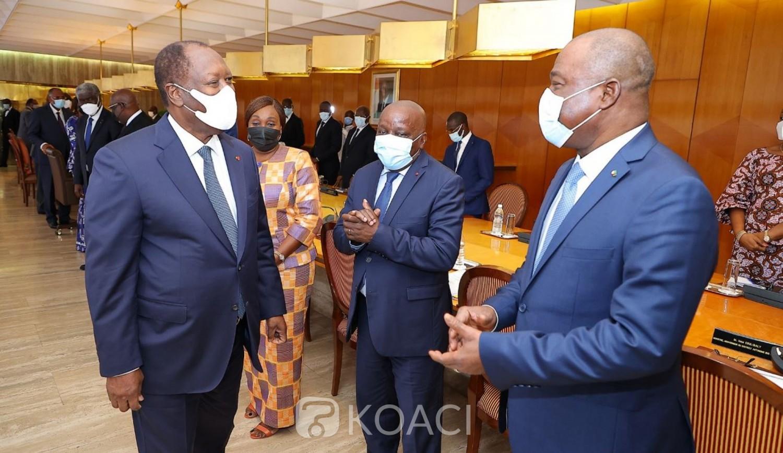 Côte d'Ivoire :    Au cours d'une rencontre avec Ouattara, les ministres gouverneurs rassurent qu'ils travailleront conformément à la loi